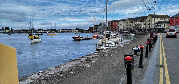 Quay, Dungarvan, Ireland, Boats, Water
