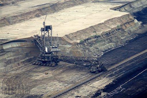 Bucket Wheel Excavators, Open Pit Mining, Brown Coal