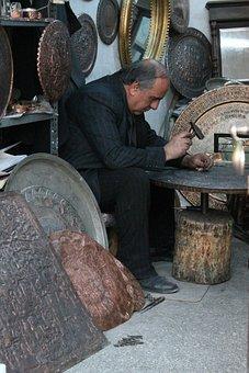Master Of Copper, Copper, Craft, Ankara, Cikrikcilar