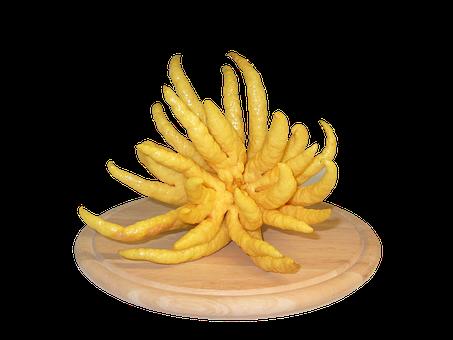 Buddha Hand, Lemon, Vegetables, Healthy, Frisch