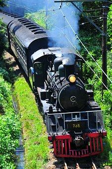 Automobile, Locomotive, Electric Train