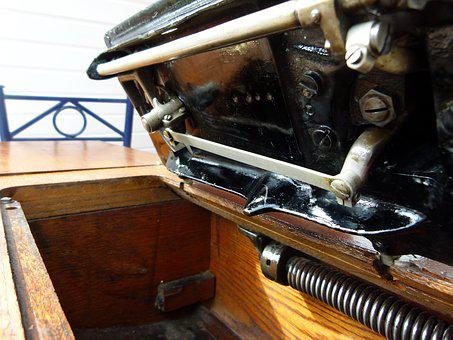 Sewing Machine, Antique, Singer, Sewing, Machine