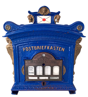 Post, Mailbox, Mail Box, Letter Boxes, Old