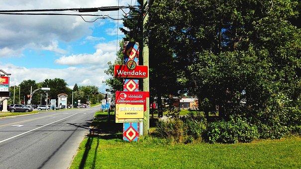 Wendake, Huron, Québec, Quebec, Canada, History