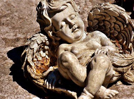 Angel, Statue, Holy, Figure, Religion, Sculpture