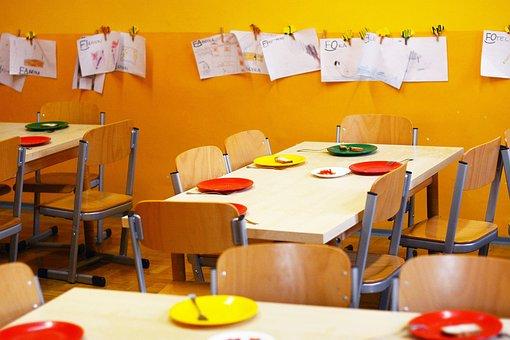Kindergarten, School, The Main, Yellow, Colors, Science