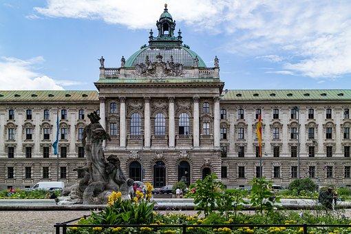Palace Of Justice, Munich, Bavaria, Architecture