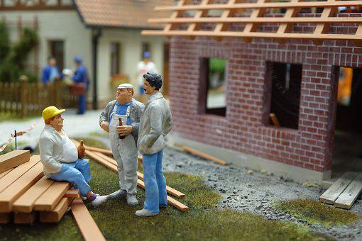 Construction Workers, Construction, Construction Work