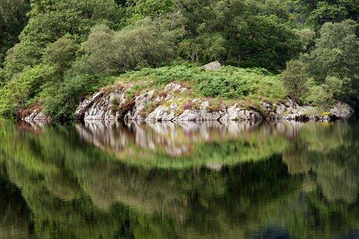 Reflection, Lake, England