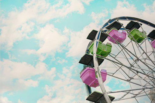 Carnival, Summer, Ferris Wheel, Holiday, Festival
