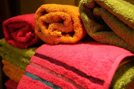 Towels, Exhibition, Kiosk