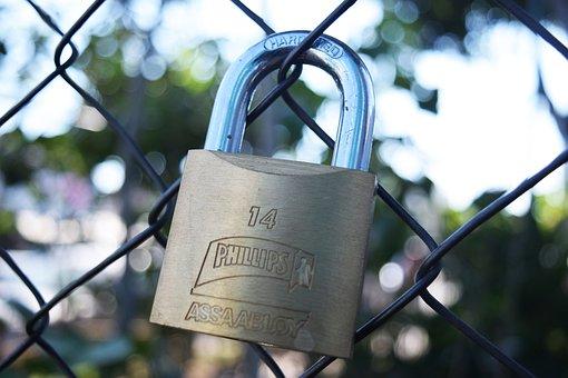 Padlock, Love, Romantic, Symbol, Heart, Key, Metal