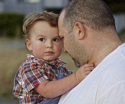 Father, Son, Dad, Boy, Kid, Love, Male