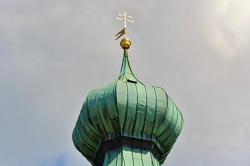 Onion Roof, Spire Roof, Copper Roof, Spire, Turrets