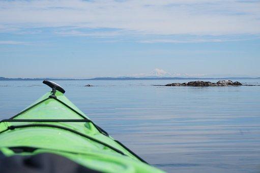 Victoria Bc, Discovery Island, Kayak, Kayaking