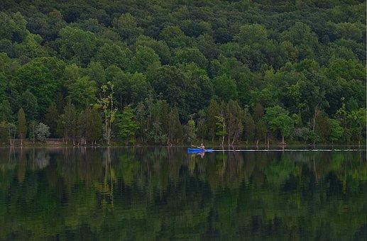 Kayak, Lake, Water, Kayaking, Summer, Sport, Vacation