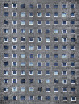 Windows, Flats, Apartment, Modern, Architecture, Estate