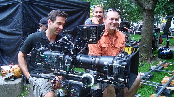 Filming, Movie, Film Crew, Camera
