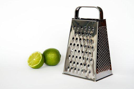 Grater, Green, Lemon, Food, Cooking, Healthy, Vegetable