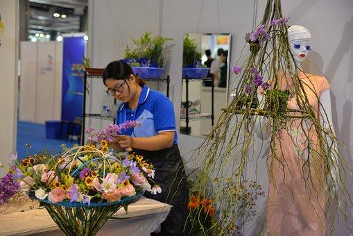 Skills Competition, Exhibition, Flower Arrangement