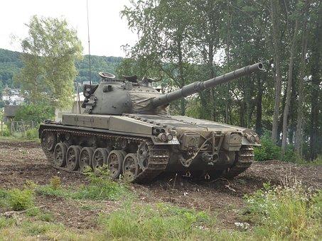 Panzer, Tank, Gun, Military Equipment, Vehicle