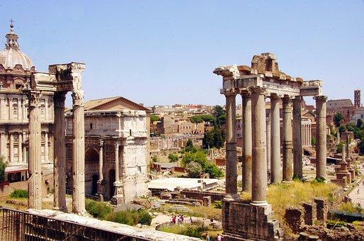 Italy, Rome, Forum, Archaeology, Romans, Antique