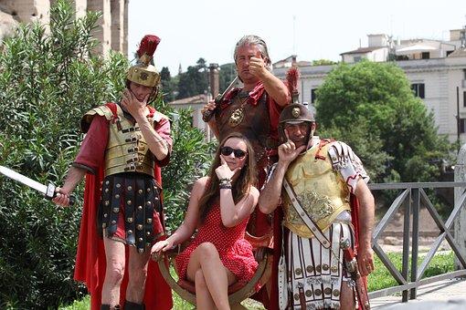 Rome, Tourism, Colosseum, Legionnaires, Gladiators