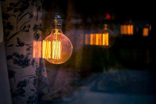 Orange, Bright, Bulb, Lightbulb, Ecology, Electricity