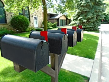 Mailbox, Letterbox, Flag, Post, Mail, Postbox, Mailing