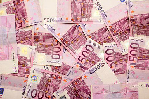 Dollar Bill, Money, 500 Euro, Euro, Currency, Banknote