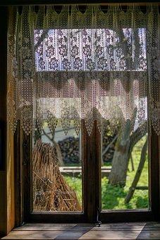 Window, Wooden, Tautliner, Retro, Old Cottage