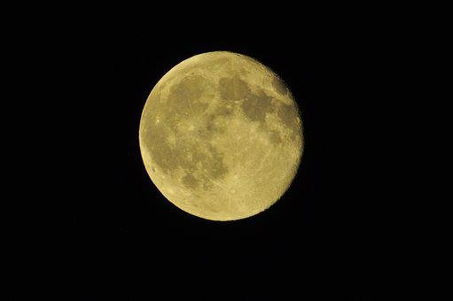 Moon, Night, Sky, Astro, Astronomy, Full Moon