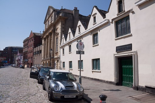 Bristol, England, Royal Road, Road Train, Homes