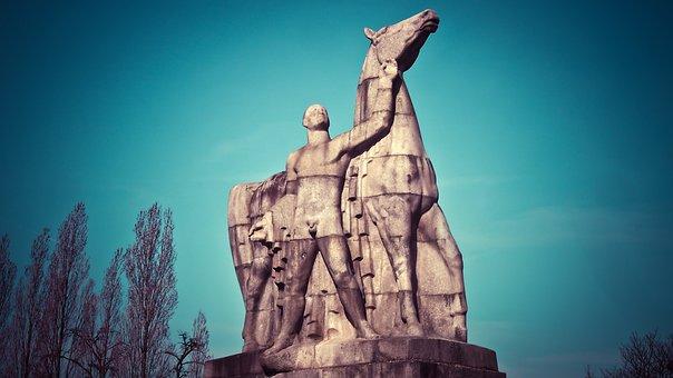 Statue, Sculpture, Fig, Art, National Socialism