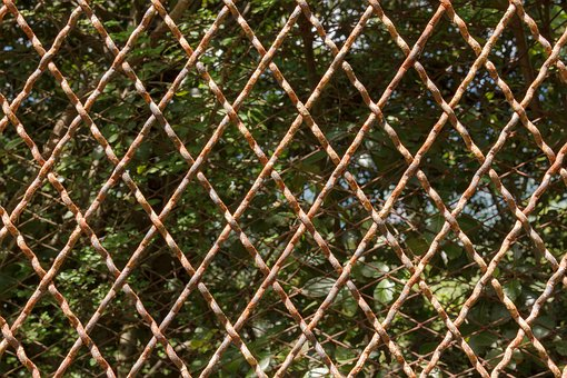 Fence, Pattern, Diamond, Background, Structure, Texture