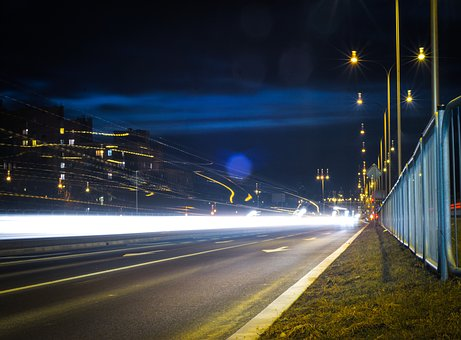 Street, Light, City, Night, Transition, The Darkness