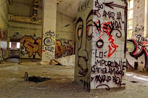 Decay, Pforphoto, Leave, Lapsed, Run Down, Graffiti