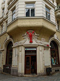 Red, Lobster, Brno, Czech Republic In Moravia, Czech