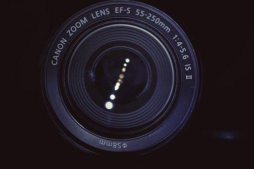 Camera, Lens, Zoom Lens, 55mm 250mm