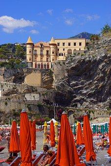 Italy, Amalfi Coast, Holiday, Landscape, Panorama
