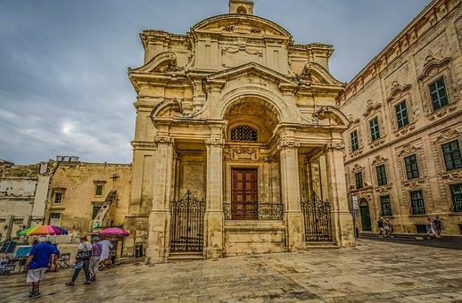 Malta, Valletta, Capital, Island, Maltese, Church