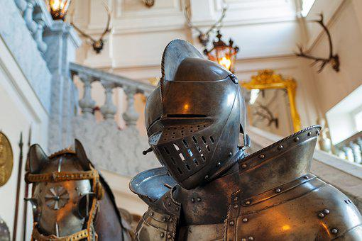Knight, Armor, Castle, Middle Ages, Historically