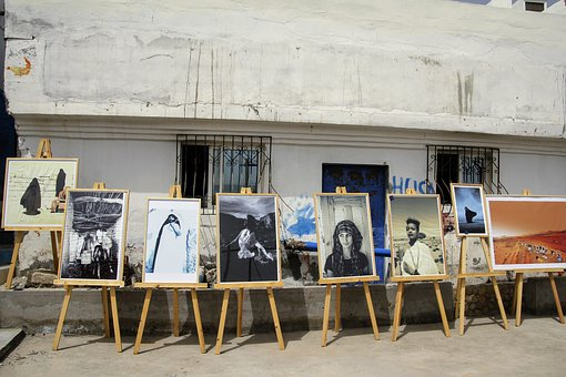 Art Exhibition, Outdoor, Images, Photo, Image, Wall
