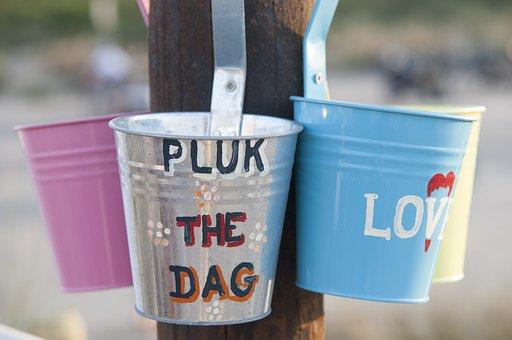 Bucket, Quote, Carpe Diem, Beach, Summer, Fun, Merry
