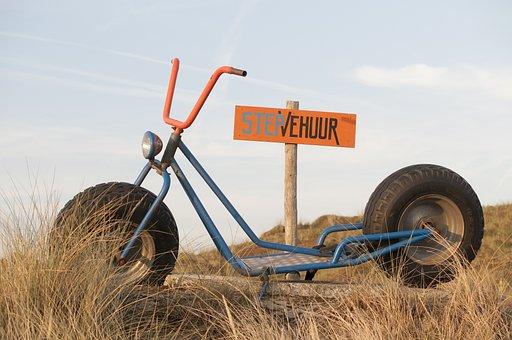 Step, Beach, Sea, Relax, Taalfout, Typo, Error, Rental