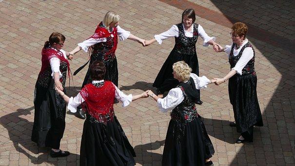 Round Dance, Dance, Hobby, Demonstration, Presentation