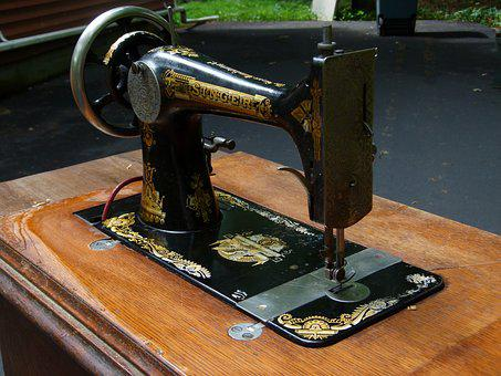 Sewing Machine, Sewing, Machine, Antique, Vintage, 1890