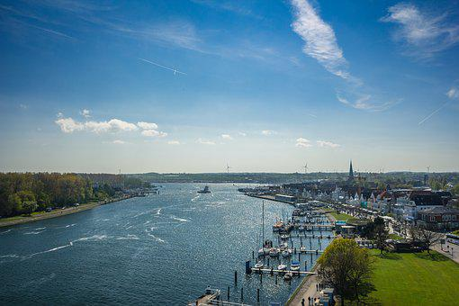Waterway, Port, Summer, Cruise, Boats, Sea, Water