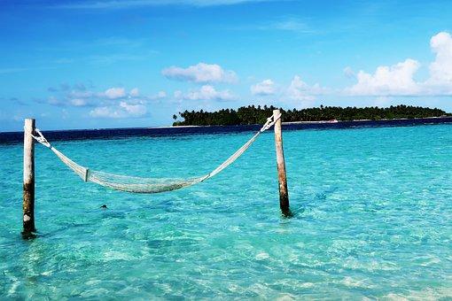 Beach, Maldives, Blue, Travel, Summer, Sea, Ocean