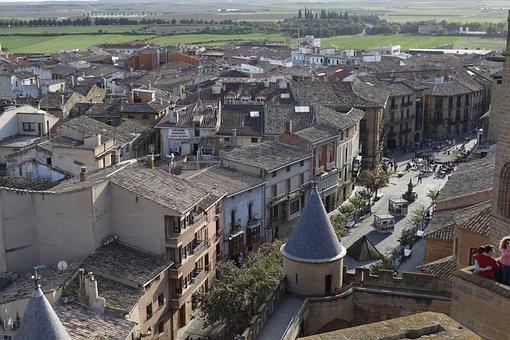 Olite, Navarre, Spain, Castle, Architecture, Medieval